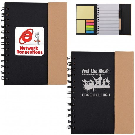 Trek Recyclable Notebook / Noteflags / Pen