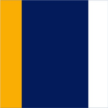 Navy-Gold-White