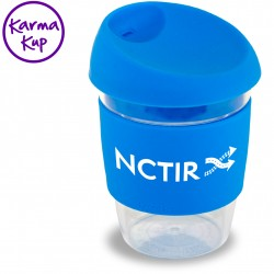 Clear As Plastic Karma Kup With Silicone Lid