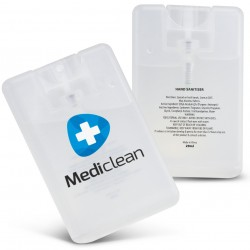 Hand Sanitiser Card