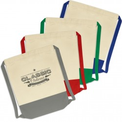 Reno Cotton Drawstring Backpack