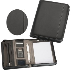 A4 Zippered Compendium - 9024
