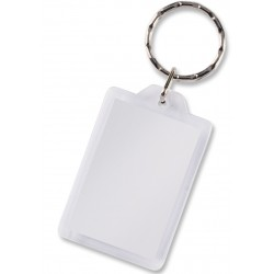 Rectangular Lens Key Ring