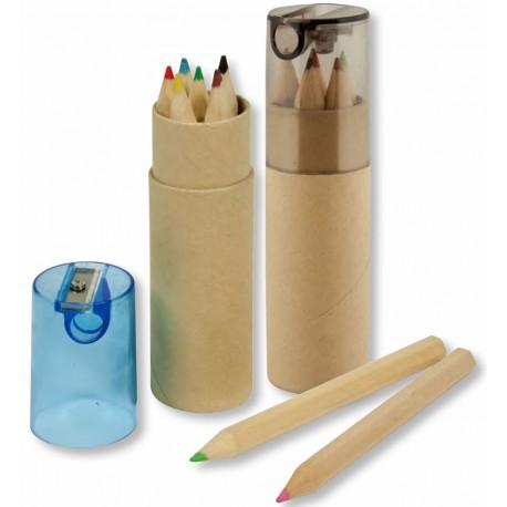 Spectrum 6PC Colour Pencil Tube