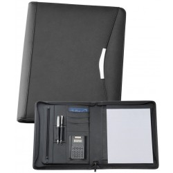A4 Bonded Leather Compendium - 9187