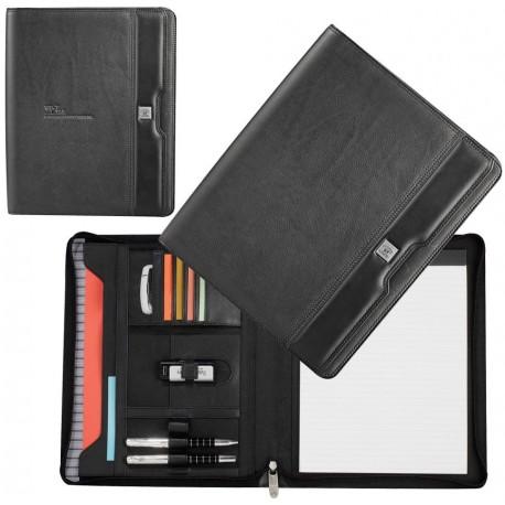 Cutter & Buck A4 Zippered Compendium - 1008