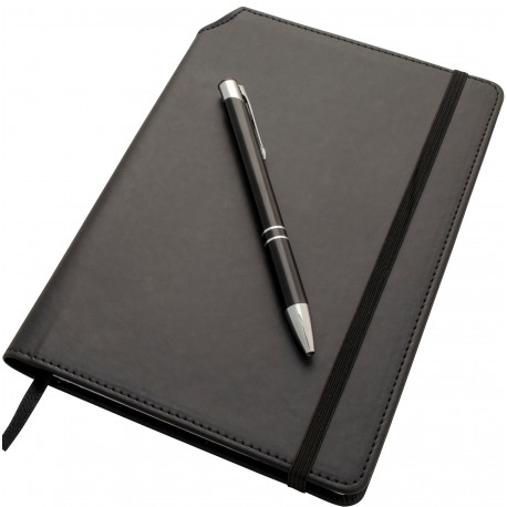 A5 Notebook With Pen Holder And Pen