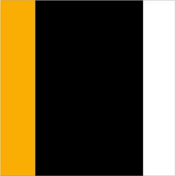 Black-Gold-White